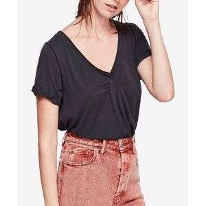 Free People All Need Gathered-Back Top